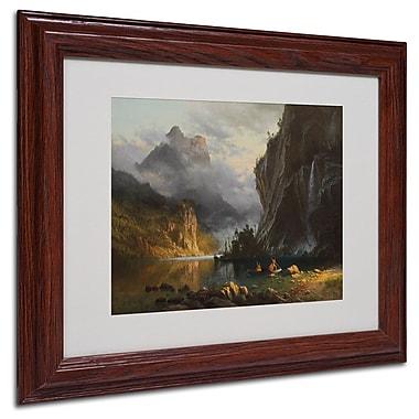 Trademark Fine Art 'Indians Spear Fishing' 11