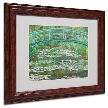 Trademark Fine Art 'The Japanese Footbridge' 11