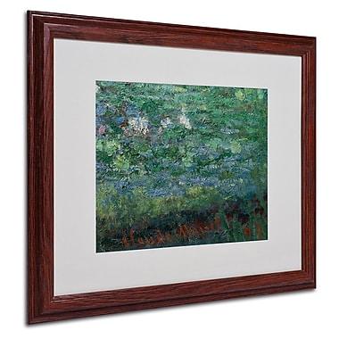 Trademark Fine Art 'The Waterlily Pond Green' 16