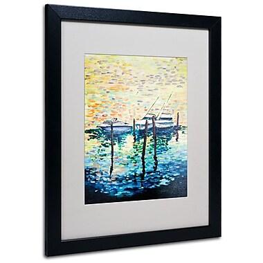 Trademark Fine Art '3 Boats' 16