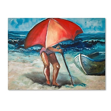 Trademark Fine Art 'Beach Umbrella' 18