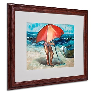 Trademark Fine Art 'Beach Umbrella' 16