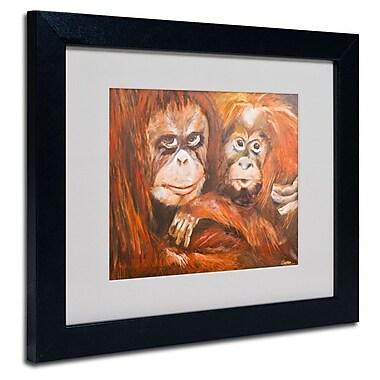 Trademark Fine Art 'Apes'