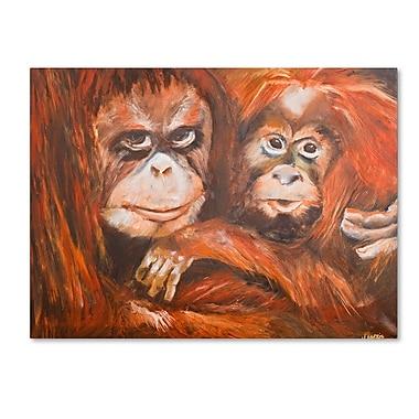 Trademark Fine Art 'Apes' 35