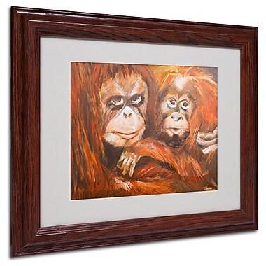 Trademark Fine Art 'Apes' 11