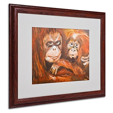 Trademark Fine Art 'Apes' 16