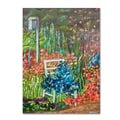 Trademark Fine Art 'Serene Garden' 18in. x 24in. Canvas Art