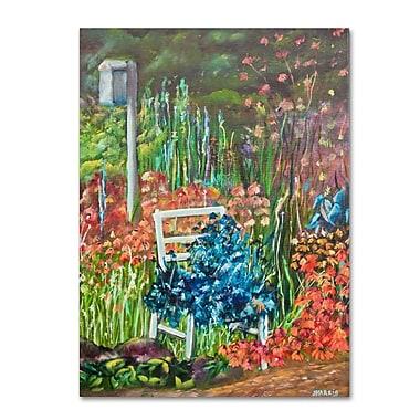 Trademark Fine Art 'Serene Garden' 18