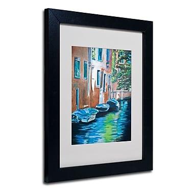 Trademark Fine Art 'Venice Boats'