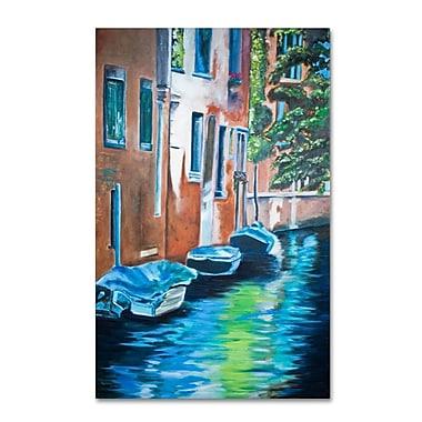 Trademark Fine Art 'Venice Boats' 30