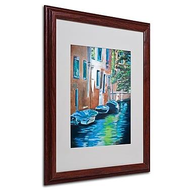 Trademark Fine Art 'Venice Boats' 16