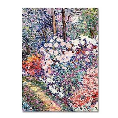 Trademark Fine Art 'Flowers In the Forest' 18