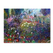 Trademark Fine Art 'Garden In Maui II' 18 x 24 Canvas Art