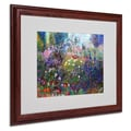 Trademark Fine Art 'Garden In Maui II' 16in. x 20in. Wood Frame Art