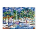 Trademark Fine Art 'Lahaina Marina' 22in. x 32in. Canvas Art