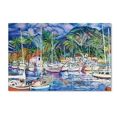 Trademark Fine Art 'Lahaina Marina' 22
