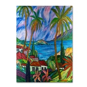 Trademark Fine Art 'Tropical Paradise' 18 x 24 Canvas Art