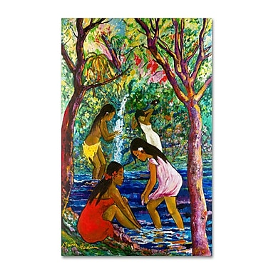 Trademark Fine Art 'Four Girls In Maui' 22