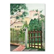 "Trademark Fine Art Valley Homes' 35"" x 47"" Canvas Art"