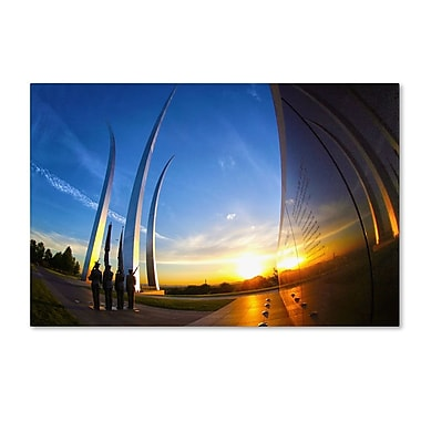 Trademark Fine Art 'Air Force Memorial 15' 30