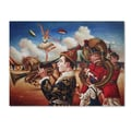 Trademark Fine Art 'Circus Hit Parade'  14in. x 19in. Canvas Art
