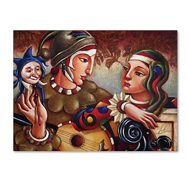 Trademark Fine Art 'Romanza' 24