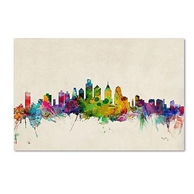 Trademark Fine Art 'Philadelphia, PA' 22