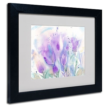 Trademark Fine Art 'Purple Blues'