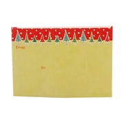 JAM Paper® 7 x 5 Christmas To From Labels, Green