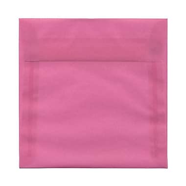 JAM Paper® Square Strathmore Wove Envelopes with Gum Closures 6