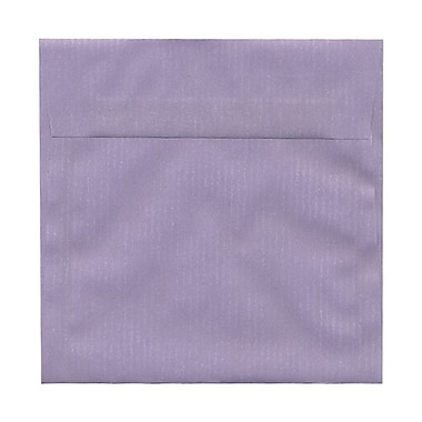 JAM Paper® 6.5 x 6.5 Square Envelopes, Lavender Purple Translucent Vellum, 25/Pack (2812726)