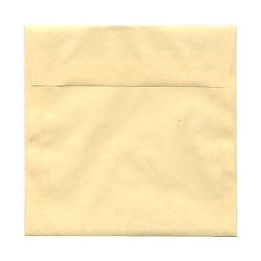 JAM Paper® 6.5 x 6.5 Square Envelopes, Ivory Clouds Translucent Vellum, 100/Pack (2812708B)