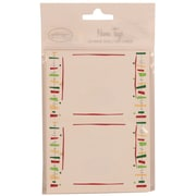 JAM Paper® 2 1/4 x 3 1/2 Fiesta Name Tag Gift Label, 2/Page, 24/Pack