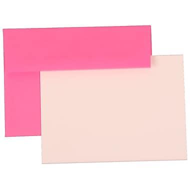 JAM Paper® A7 Brite Hue Stationary Sets With 25 Cards & Envelopes