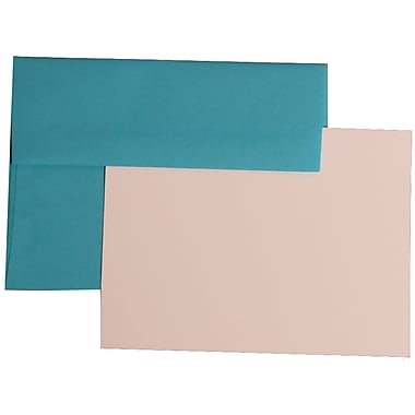 JAM Paper® A6 Brite Hue Recycled Stationary Sets With 25 Cards & Envelopes
