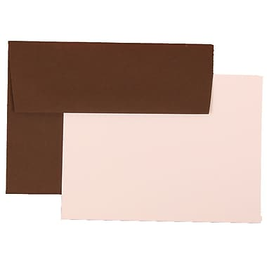 JAM Paper® A6 Recycled Stationary Sets With 25 Cards & Envelopes