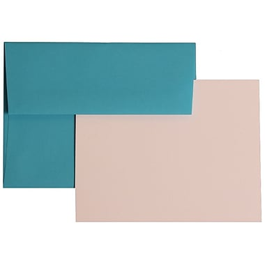 JAM Paper® A2 Brite Hue Recycled Stationary Sets With 25 Cards & Envelopes