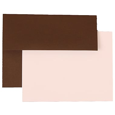 JAM Paper® A2 Recycled Stationary Sets With 25 Cards & Envelopes