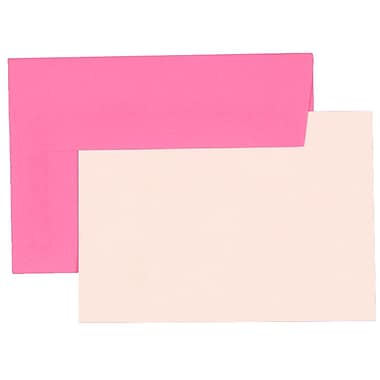 JAM Paper® 4Bar Brite Hue Stationary Sets With 25 Cards & Envelopes