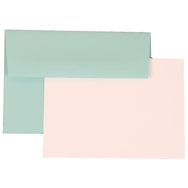 Jam Paper® 4Bar Base Stationary Set With 100 Cards & Envelopes