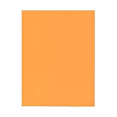 JAM Paper® 8 1/2in. x 11in. Brite Hue Cardstock, Ultra Orange, 250/Pack