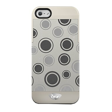 iSkin Vibes Polka Dot iPhone 5/5S Case, Brown