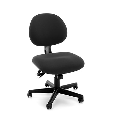 OFM™ Fabric 24-Hour Computer Task Chair, Black