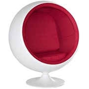 Modway Kaddur Polycotton Kids Chair, Red