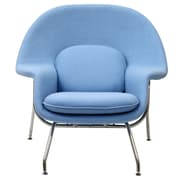 Modway W Foam Padded Lounge Chairs With Ottoman