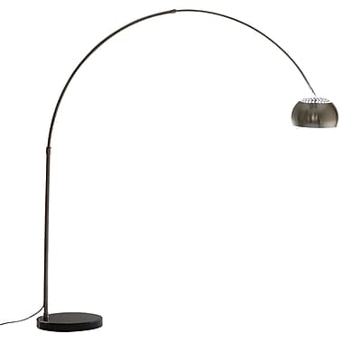 Modway 60W Sunflower Floor Lamps With Round Marble Base