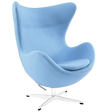 Modway Glove Wool Lounge Chairs