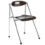 Modway Telescope Acrylic Folding Chair, Smoke