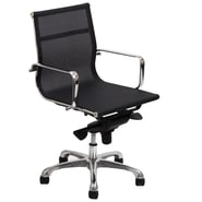 Modway Slider Mesh Mid Back Office Chairs