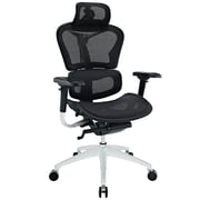 Modway High-Back Mesh Executive Chair, Adjustable Arms, Black